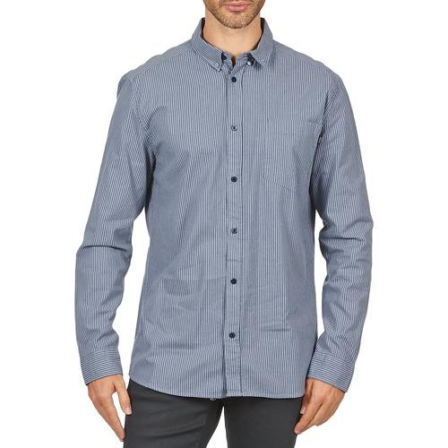 material Men long-sleeved shirts Wesc YANIK Blue