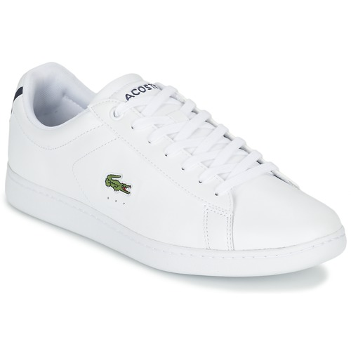 Lacoste Carnaby Evo Lcr White Fast Delivery Spartoo Europe Shoes Low Top Trainers Men 105 00