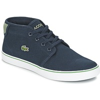 Shoes Boy High top trainers Lacoste AMPTHILL 116 2 MARINE