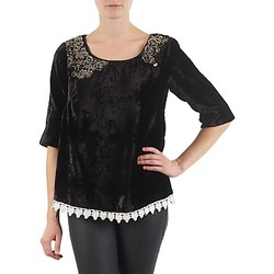 material Women Long sleeved shirts Lollipops PILOW TOP Black