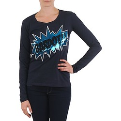 material Women Long sleeved shirts Brigitte Bardot BB43130 Blue