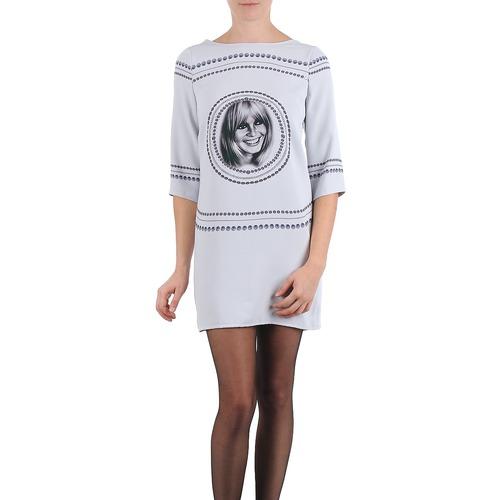 material Women Short Dresses Brigitte Bardot BB43121 Grey