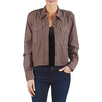 material Women Shirts Brigitte Bardot BB43077 Brown