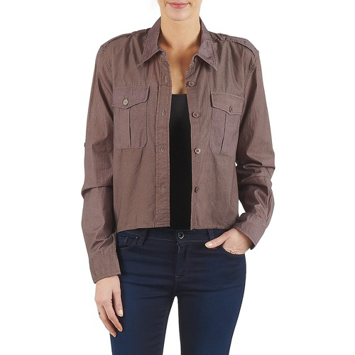 material Women Shirts Brigitte Bardot BB43077 Brown