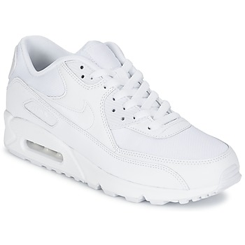 new styles ec3ab e0f67 Shoes Men Low top trainers Nike AIR MAX 90 ESSENTIAL White