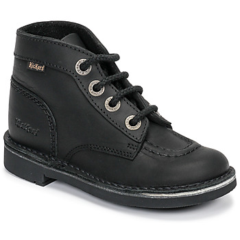 Shoes Children Mid boots Kickers KICK COL Black
