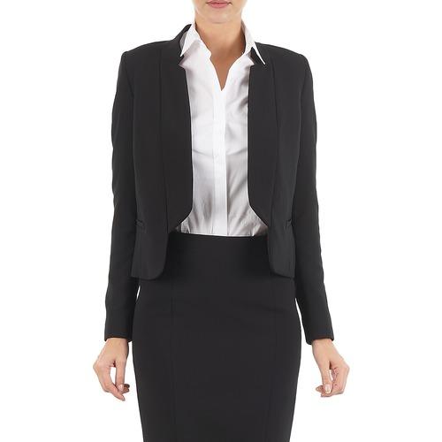 material Women Jackets / Blazers Lola DOUBLE VAEL Black