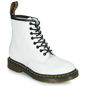 Shoes Women Mid boots Dr Martens 1460 White