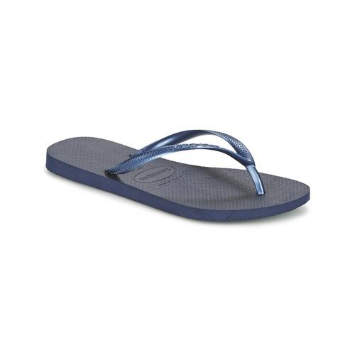 Shoes Women Flip flops Havaianas SLIM Marine