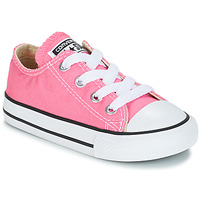 Shoes Girl Low top trainers Converse CHUCK TAYLOR ALL STAR CORE OX Pink
