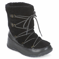 Shoes Women Snow boots FitFlop SUPERBLIZZ Black