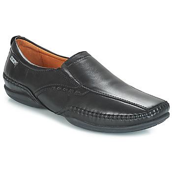 Shoes Men Loafers Pikolinos MENS PUERTO RICO SLIP ON Black