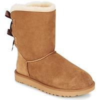 Shoes Women Mid boots UGG BAILEY BOW II Beige
