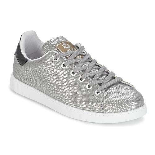 Shoes Women Low top trainers Victoria DEPORTIVO BASKET TEJIDO FANT Silver