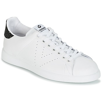 Shoes Women Low top trainers Victoria DEPORTIVO BASKET PIEL White / Black