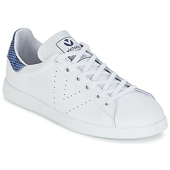 Shoes Low top trainers Victoria DEPORTIVO BASKET PIEL White / Blue