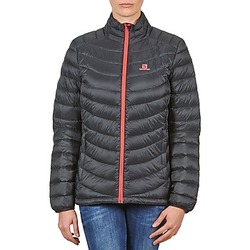 material Women Duffel coats Salomon Jacket HALO DOWN JACKET W BLACK Black