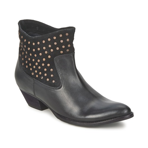 Shoes Women Mid boots Friis & Company DUBAI FLIC Black