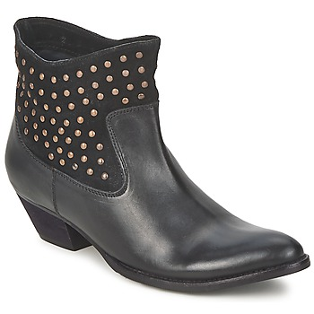 Ankle boots / Boots Friis & Company DUBAI FLIC Black 350x350