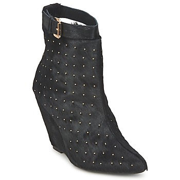 Ankle boots / Boots Friis & Company KANPUR Black 350x350