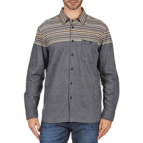 material Men long-sleeved shirts Element LENOX Grey