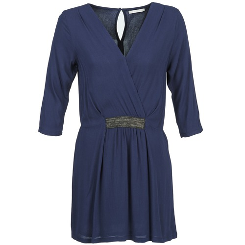 material Women Short Dresses Betty London DUSTY Marine