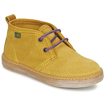 Shoes Boy Mid boots El Naturalista KEPINA Yellow
