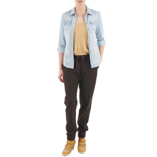 material Women Wide leg / Harem trousers Bensimon BRODY Brown