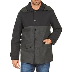material Men coats Aigle SHERPAFIELD Black / Grey