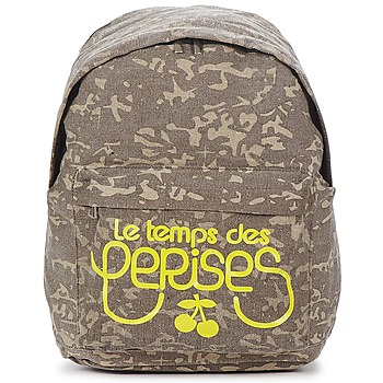 Bags Women Rucksacks Le Temps des Cerises HUNTER 1 KAKI