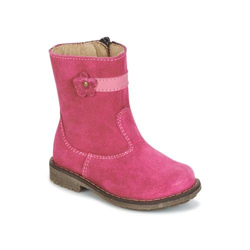 Shoes Girl Mid boots Citrouille et Compagnie PISTY Fuschia