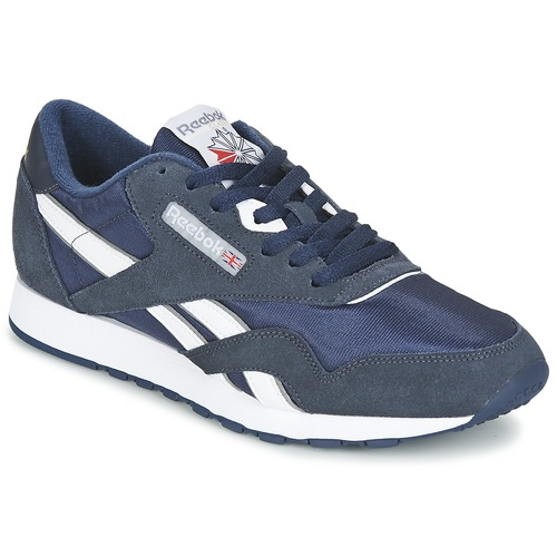 4ed44725d81 Reebok Classic CLASSIC NYLON Blue - Fast delivery with Spartoo ...