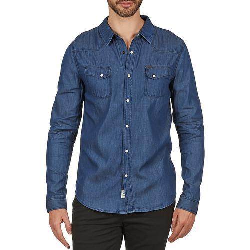 Dress shirts Le Temps des Cerises RONDAL Blue 350x350