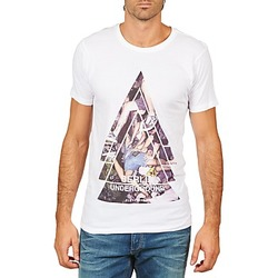 material Men short-sleeved t-shirts Eleven Paris BERLIN M MEN White