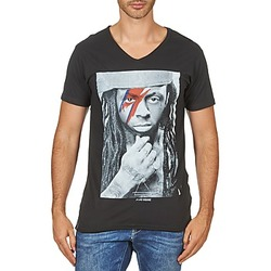 material Men short-sleeved t-shirts Eleven Paris KAWAY M MEN Black