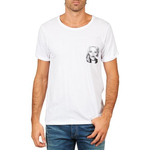 material Men short-sleeved t-shirts Eleven Paris KMPOCK MEN White