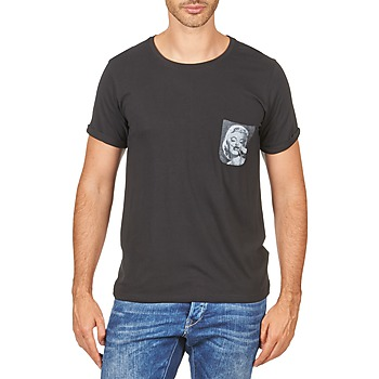 material Men short-sleeved t-shirts Eleven Paris MARYLINPOCK MEN Black