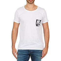 material Men short-sleeved t-shirts Eleven Paris MARYLINPOCK MEN White