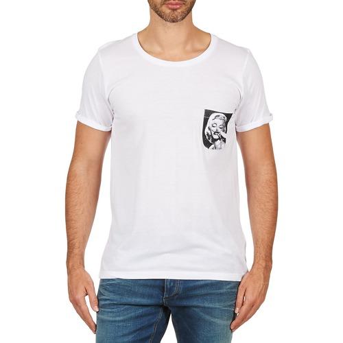 material Men short-sleeved t-shirts Eleven Paris MARYLINPOCK MEN White
