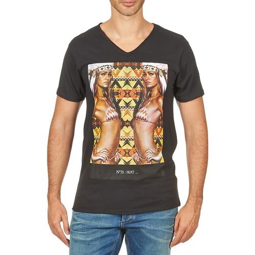material Men short-sleeved t-shirts Eleven Paris N35 M MEN Black