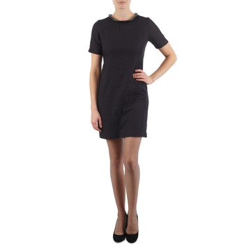 material Women Short Dresses Eleven Paris TOWN WOMEN Black