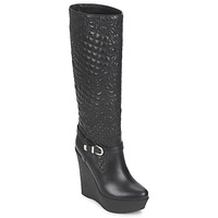 Shoes Women Boots Versace DSL909R Black