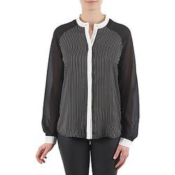 material Women Shirts Manoukian RAGANE Black