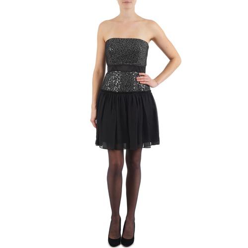 material Women Short Dresses Manoukian JENNI Black