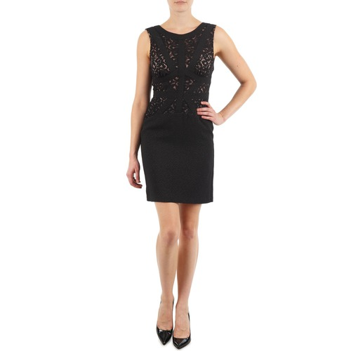 material Women Short Dresses Manoukian EILEEN Black