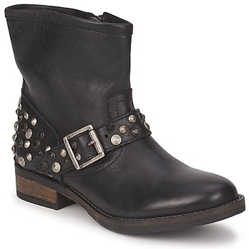 Mid boots Pieces ISADORA LEATHER BOOT