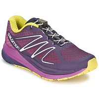Shoes Women Running shoes Salomon SENSE PROPULSE W Violet / Pink / Yellow