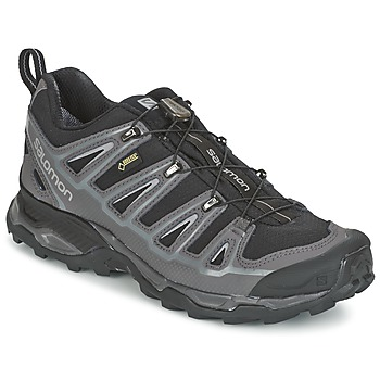 Shoes Men Hiking shoes Salomon X ULTRA 2 GTX Black / Grey