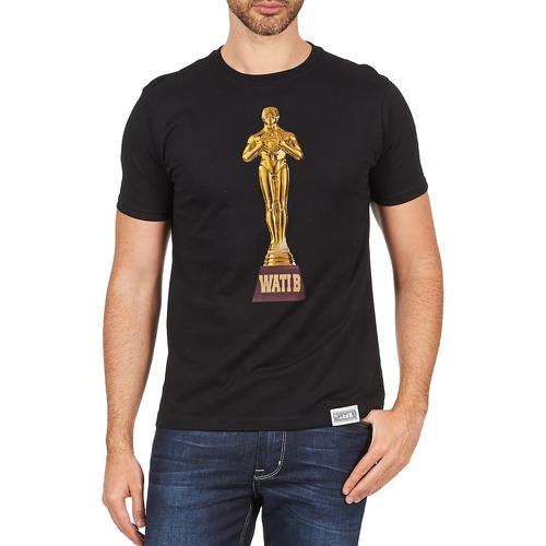 material Men short-sleeved t-shirts Wati B TSOSCAR Black