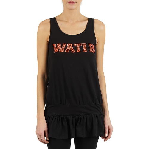 material Women Tunics Wati B TUNIQ Black